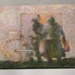 BLEDI SPOMENEK, 2010., pastel, 35x50