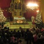 crkva sv.Križa Šemovci prije koncerta