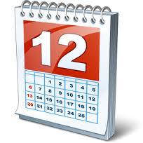Kalendar događanja u Šemovcima u 2012.