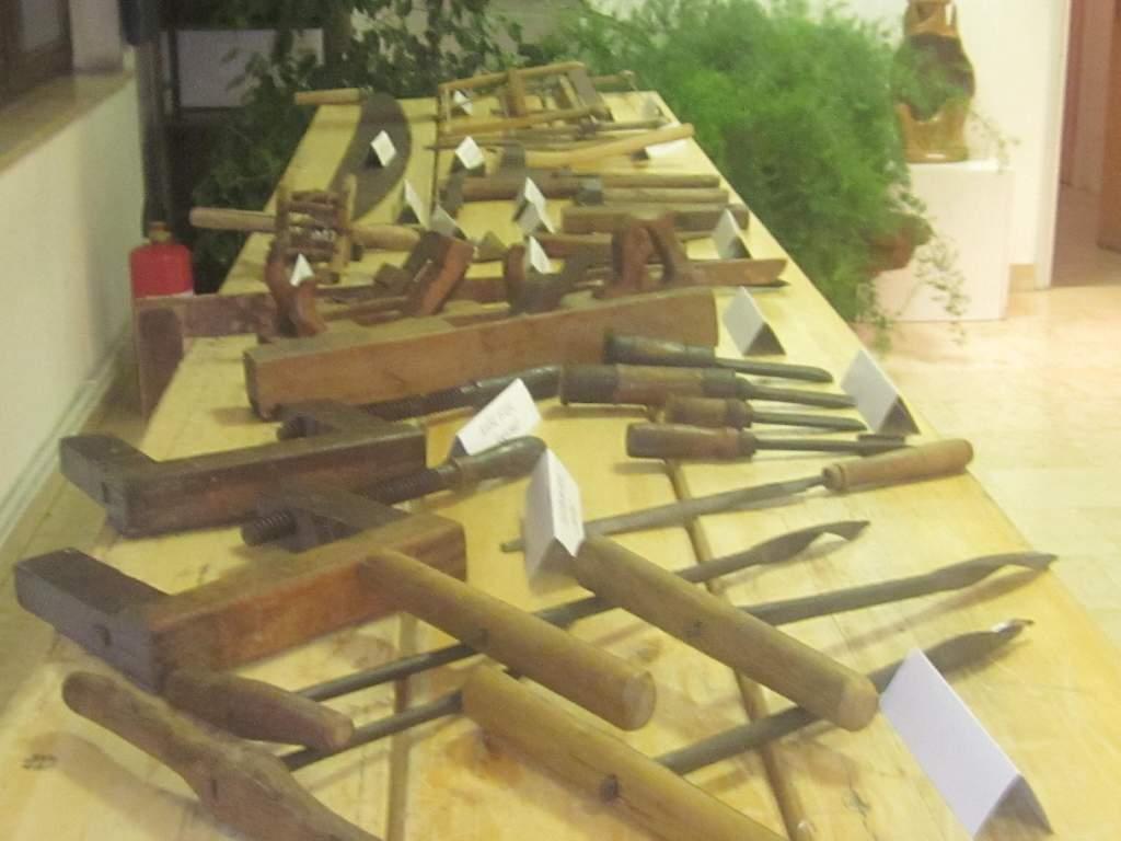 Stari stolarski alati-dr.Hečimović Davor-izložba