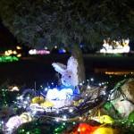 Zagreb, 06.04.2012 - Obitelj Salaj iz Grabovnice kraj Cazme po prvi je put po uzoru na bozicni ugodjaj priredila i Uskrsnu pricu