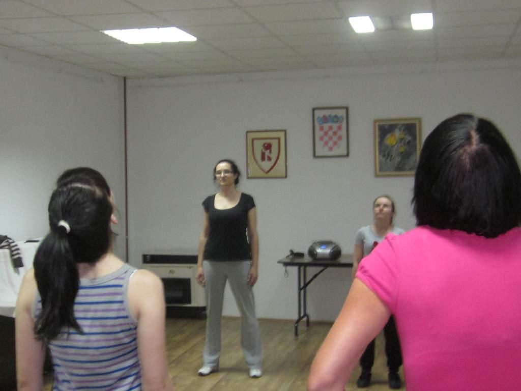 Održana prva fitness radionica