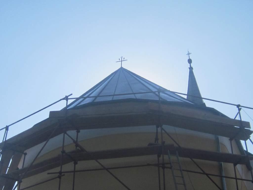Uređenje krovišta na crkvi sv.Križa
