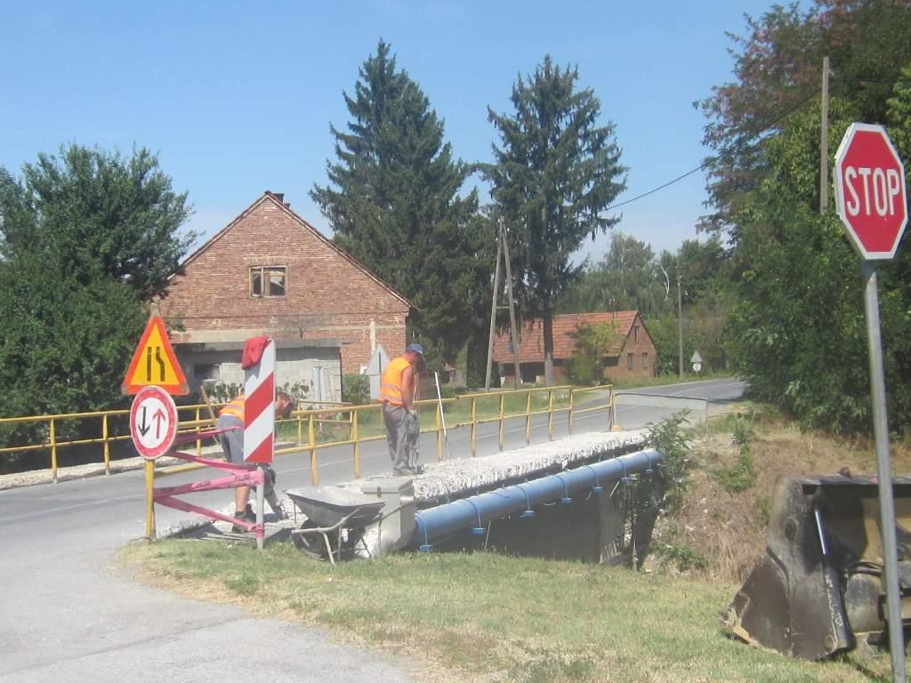 U ponedeljak 3.rujna zatvara se cesta Šemovci-Virje