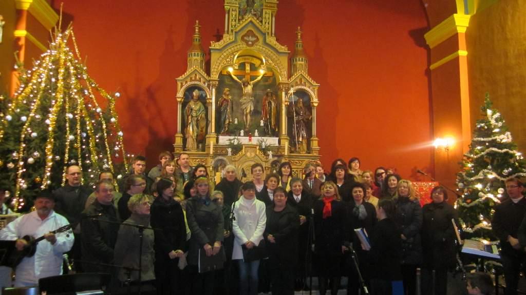 """Božićni koncert  """"Radujte se narodi """""""